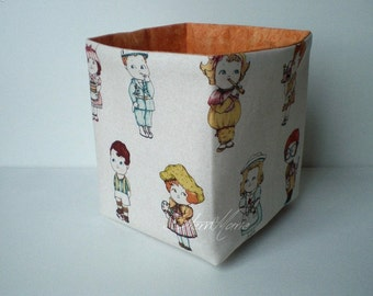 "Utensilo ""paper doll"" orange"