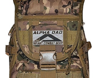 827a6fb92999 ALPHA DAD Personalized Mens Diaper Bag Backpack - Hunting Camo Diaper Bag   Monogrammed  Diaper Bag   New Baby New Dad Gift Baby Shower Gift