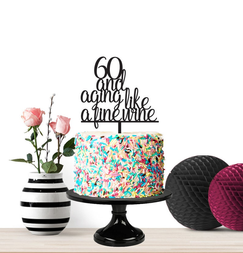 Surprising Happy Birthday Cake Topper Milestone Birthday Funny Cake Etsy Personalised Birthday Cards Paralily Jamesorg