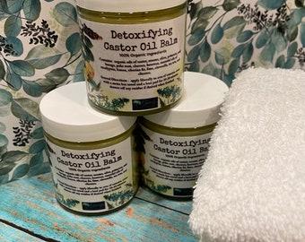 Castor Oil Balm and Pack Kit