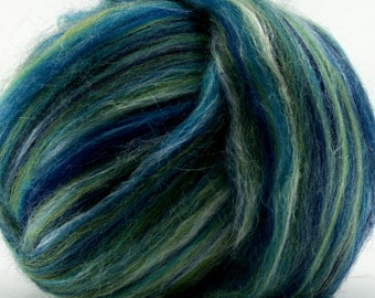 Aquarius Merino Tussah Silk Combed Top Wool Two Ounces for Felting and Spinning