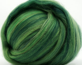 Two Ounces Extra Fine Wool Roving Sugar Candy, Color Brazil