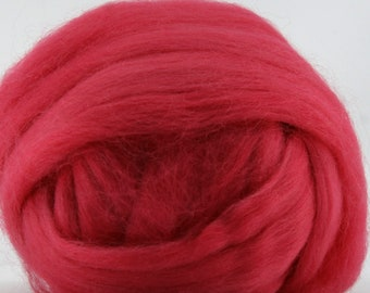 Poppy Corriedale 2 oz  Roving for Felting Spinning Fiber Arts
