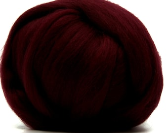Two Ounces Extra Fine Merino Wool Roving, Color Soft Fruits