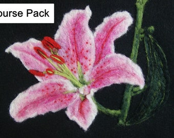 Fabulous Felted Lily Course Pack