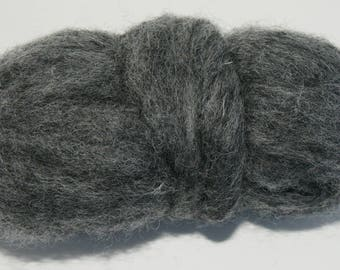 Tornado Bulky Carded Corriedale One Ounce for Needle Felting