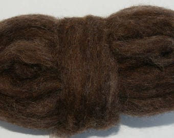 Bear Bulky Carded Corriedale One Ounce for Needle Felting