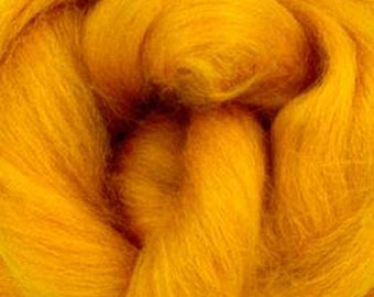 Luminous Sunset Corriedale 2 oz World of Wool Roving for Felting Spinning Fiber Arts