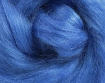 Tussah Silk Top One Ounce Color Dream For Felting or Spinning