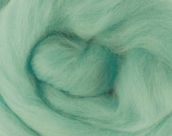 Two Ounces Extra Fine Merino Wool Roving, Color Paradise