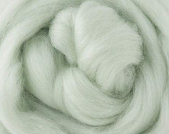 Two Ounces Extra Fine Merino Wool Roving, Color Lilly of the Valley