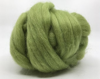 Sage Corriedale 2 oz  Roving for Felting Spinning Fiber Arts