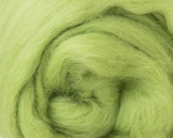 Two Ounces Extra Fine Merino Wool Roving, Color Caipirnha