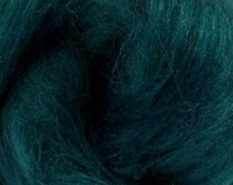 Tussah Silk Top One Ounce Color Ireland For Felting or Spinning