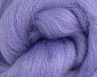 Hyacinth Corriedale 2 oz World of Wool Roving for Felting Spinning Fiber Arts