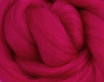 Rose Corriedale 2 oz World of Wool Roving for Felting Spinning Fiber Arts