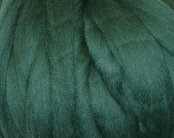 Pine Corriedale 2 oz Roving for Felting Spinning Fiber Arts