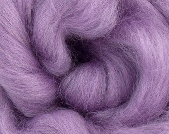 Lavender Corriedale 2 oz  Roving for Felting Spinning Fiber Arts