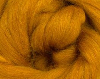 Amber Corriedale 2 oz  Roving for Felting Spinning Fiber Arts