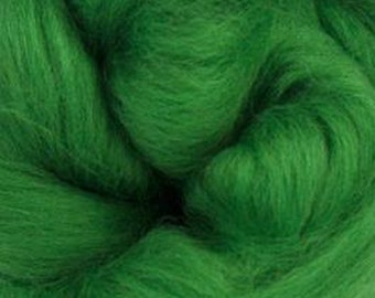Grass Corriedale 2 oz World of Wool Roving for Felting Spinning Fiber Arts