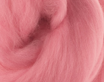 Two Ounces Extra Fine Merino Wool Roving, Color Baby