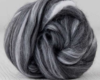 Two Ounces Extra Fine Merino Wool Roving Color Photography for Felting and Spinning