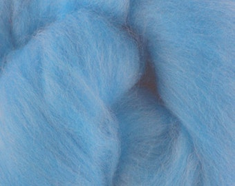Two Ounces Extra Fine Merino Wool Roving, Color September