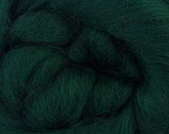 Conifer Corriedale 2 oz World of Wool Roving for Felting Spinning Fiber Arts
