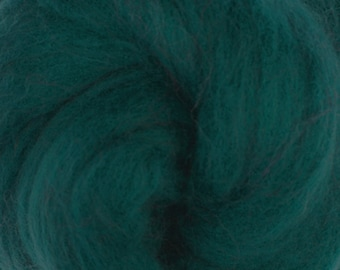 Two Ounces Extra Fine Merino Wool Roving, Color Ireland