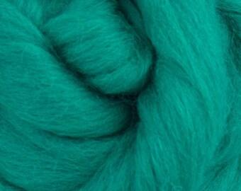 Jade Corriedale 2 oz World of Wool Roving for Felting Spinning Fiber Arts