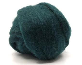 Two Ounces Extra Fine Merino Wool Roving, Color Wood