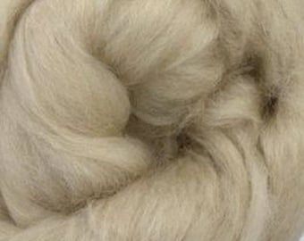 De-Haired Fawn Baby Camel Top Roving One Ounce for Felting, Spinning