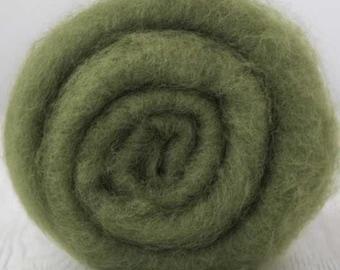 DHG Extra Fine Merino Batt Ivy for Felting 3.5 Ounces (100 grams)