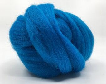 Mediterranean Corriedale 2 oz World of Wool Roving for Felting Spinning Fiber Arts