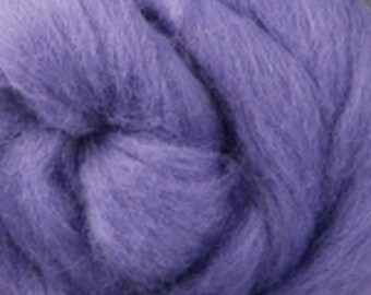 Ashford Lavender Corriedale Wool Roving Two Ounces for Felting and Spinning