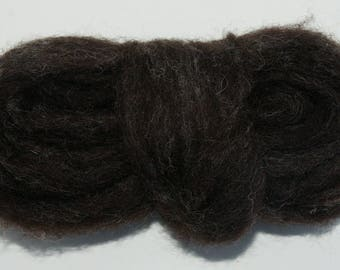 Badger Bulky Carded Corriedale One Ounce for Needle Felting