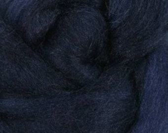 Tussah Silk Top One Ounce Color Tuareg For Felting or Spinning