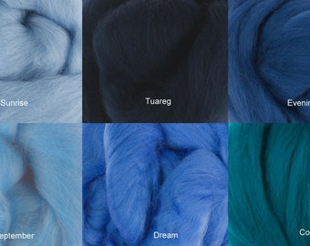 SALE! 4 Ounces DHG Extra Fine Merino for Felting, Spinning