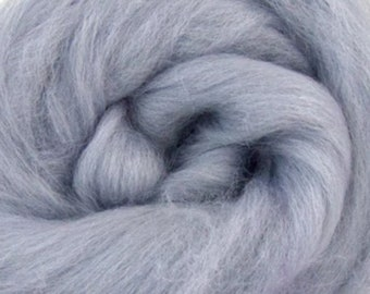 Seal Corriedale 2 oz World of Wool Roving for Felting Spinning Fiber Arts