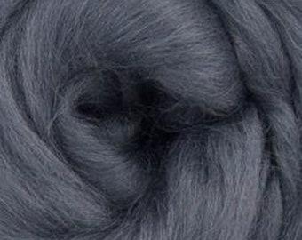 Granite Corriedale 2 oz  Roving for Felting Spinning Fiber Arts