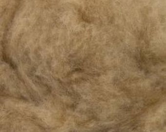 Baby Camel Down Brown De-Haired One Ounce for Felting, Spinning