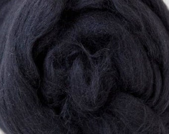 Two Ounces Extra Fine Merino Wool Roving, Color Seal