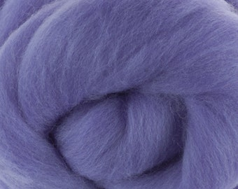 Two OuncesExtra Fine Merino Wool Roving, Color Lilac