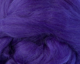Two Ounces Extra Fine Merino Wool Roving, Color Florence