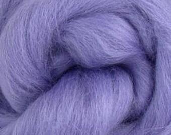 Hyacinth Corriedale 2 oz  Roving for Felting Spinning Fiber Arts