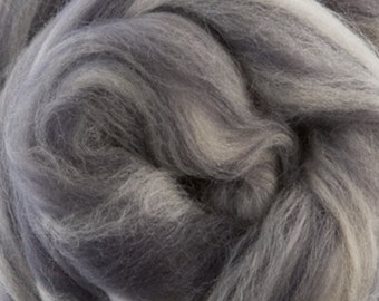 Two Ounces Extra Fine Merino Wool Roving Sugar Candy, Color Steam