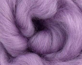 Lavender Corriedale 2 oz  Roving for Felting Spinning Fiber Arts