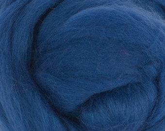 Two Ounces Extra Fine Wool Roving Sugar Candy, Color Evening