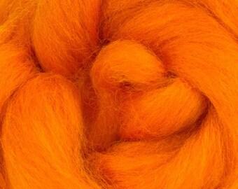 Clementine Corriedale 2 oz  Roving for Felting Spinning Fiber Arts