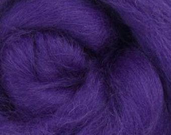 Amethyst Corriedale 2 oz World of Wool Roving for Felting Spinning Fiber Arts